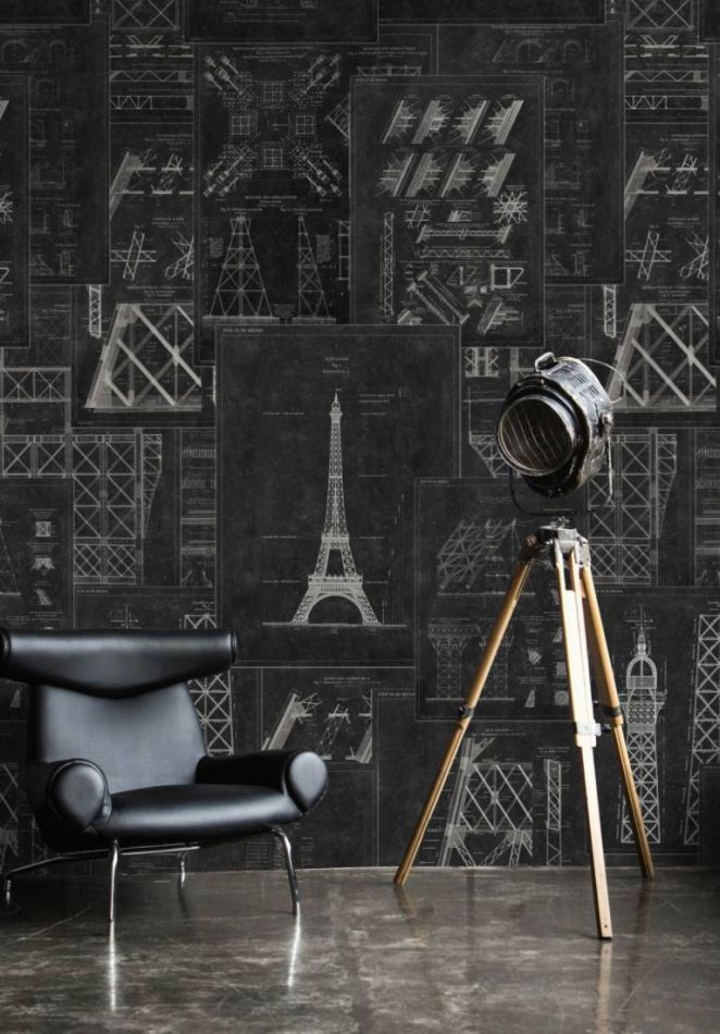 Grand Eiffel Anthracite WP20218